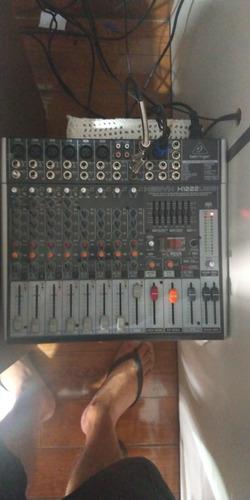 mesa de som x1222usb