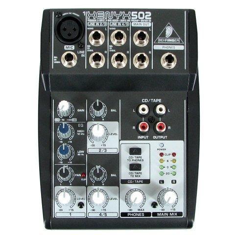 mesa de som xenyx 502 - behringer