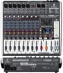 mesa de som xenyx behringer x-1222 usb