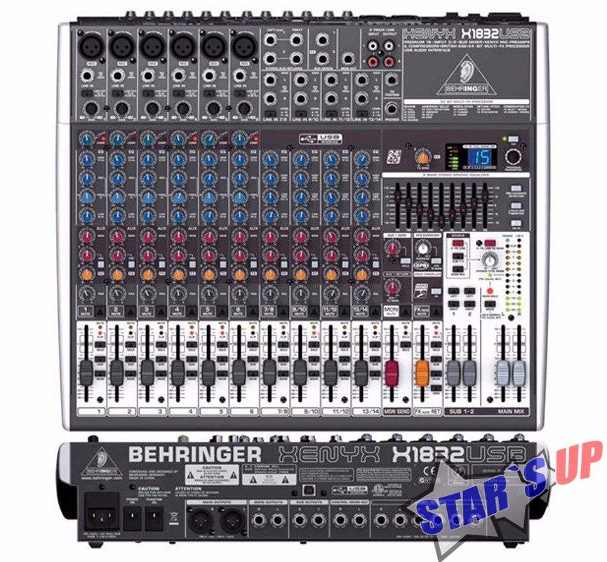 mesa de som xenyx x1832 usb behringer x1832usb qx1832usb r 1 774 rh produto mercadolivre com br