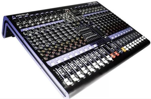 mesa de sonido audiolab live an16 garantia / abregoaudio