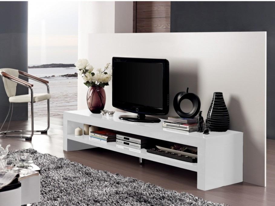 mesa de television minimalista lacada ref baxter