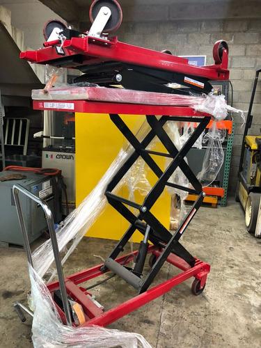 mesa de tijera hidraulica