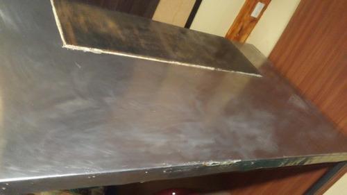mesa de trabajo acero inoxidable
