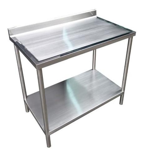 mesa de trabajo aceroinoxidable 304 carnicerias,restaurantes