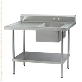 Mesa De Trabajo C/tarja Acero Inox International Melt1d1800