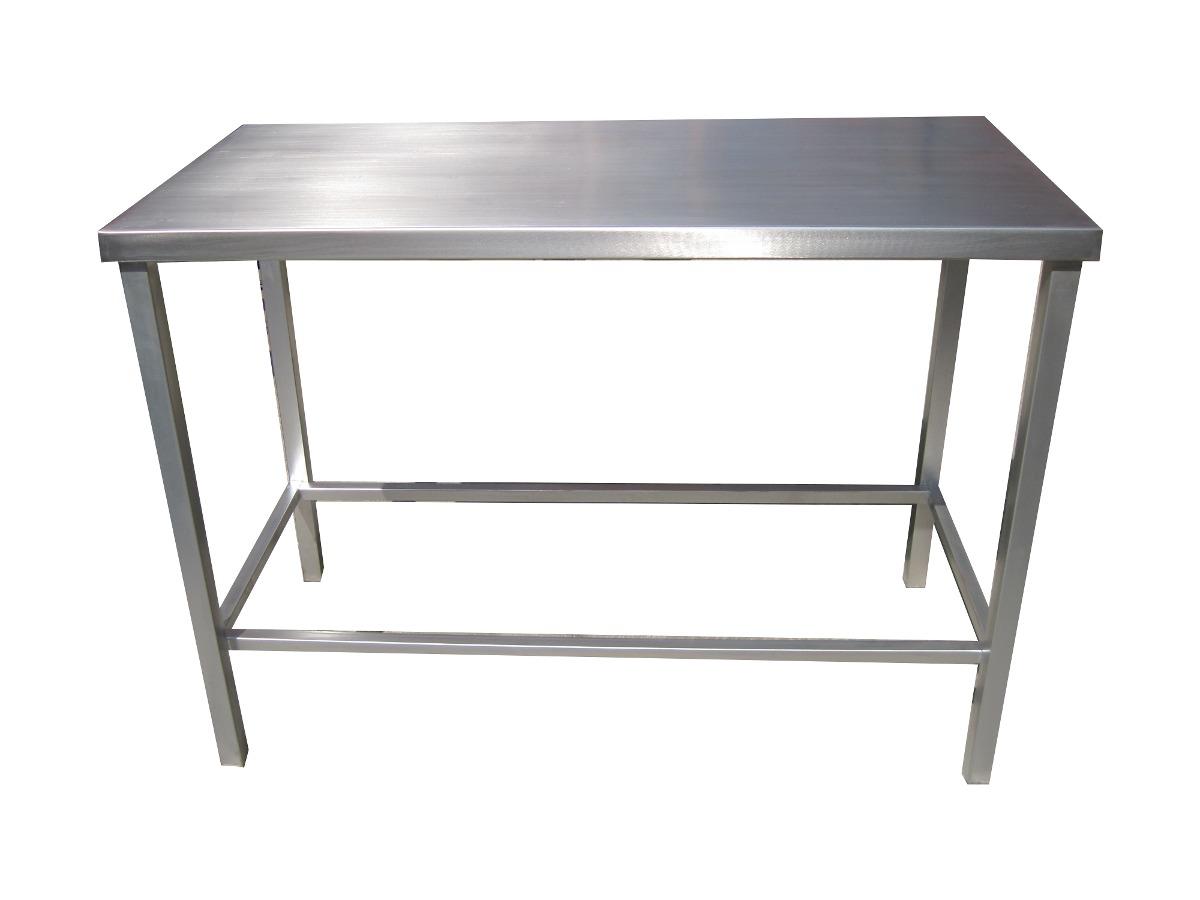 Mesa de trabajo cubierta en acero inoxidable 93x60x90 2 en mercado libre - Mesa de trabajo acero inoxidable ...