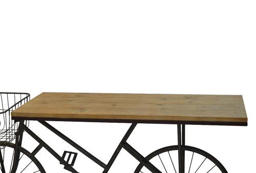 mesa de trabajo en bicicleta vintage
