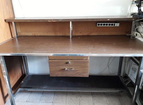 Mesa de trabajo laboratorio elctronico o taller de madera - Mesa de taller ...
