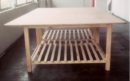 mesa de trabajo - mesa de corte - tela- precio por m2
