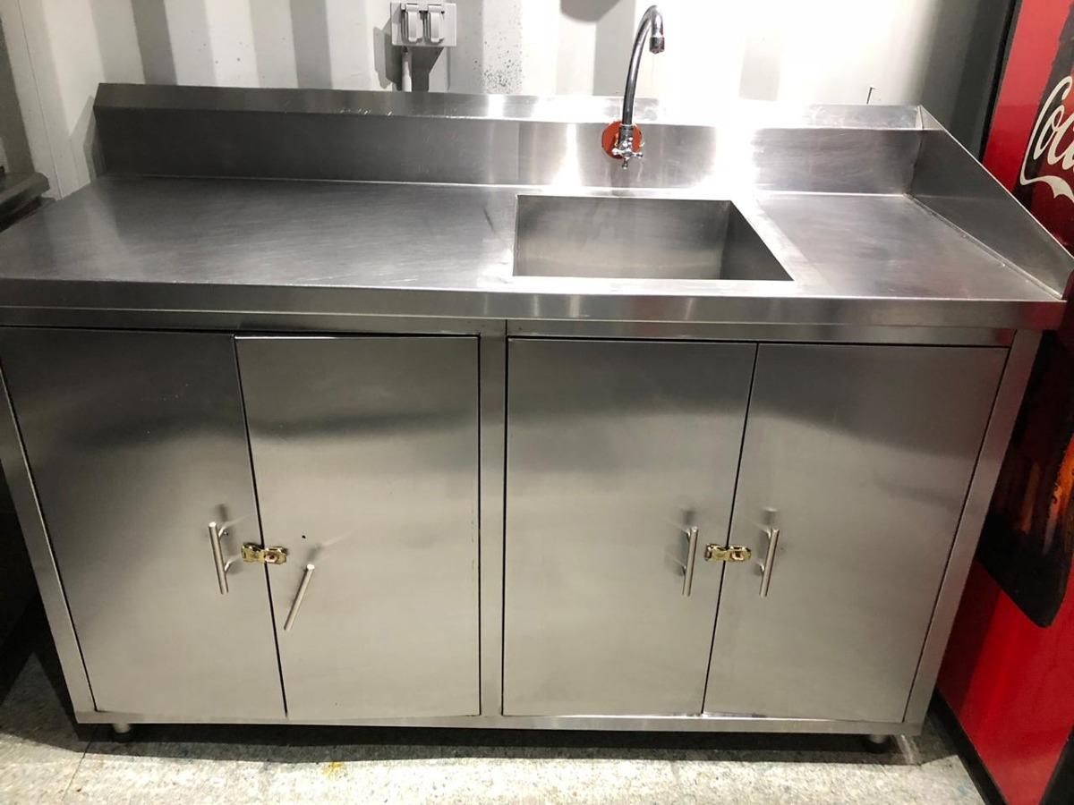 Mesa De Trabajo Para Cocina - U$S 645,00 en Mercado Libre