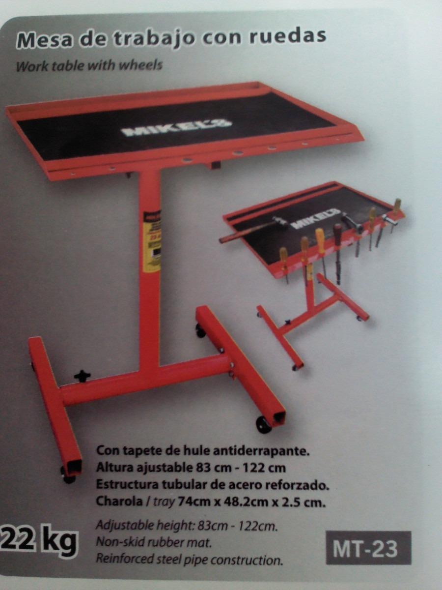 Mesa de trabajo taller mecanico 1 en mercado libre for Mesas de trabajo para taller