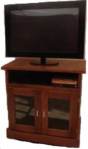 mesa de tv de 0.90 x 1.00 de algarrobo