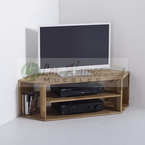 mesa de tv esquinero 1.20x0.60x0.40