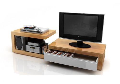 mesa de tv rack modular cubic mt 1800/5