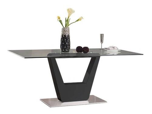mesa de vidrio 10mm base linea premium cocina comedor sala