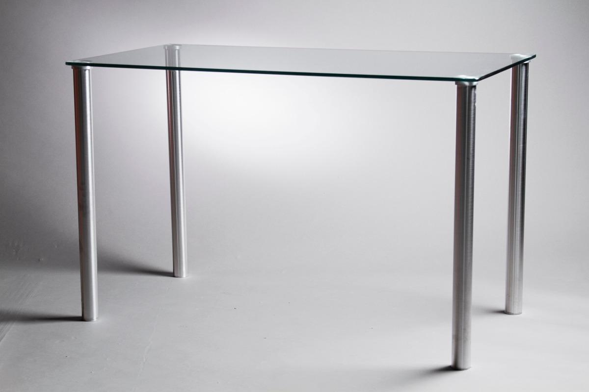 Mesa De Vidrio. Diseño Minimalista Para Living Y Comedor. - $ 12.250 ...