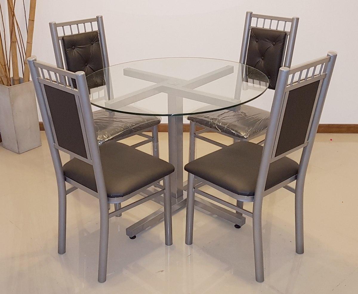 Mesas redondas de diseo mesa redonda diseo varillas en for Comedor pequea o precio