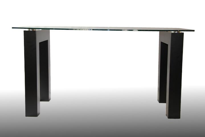 Mesas de cristal redondas para comedor extensin de la for Mesas de comedor de vidrio y metal
