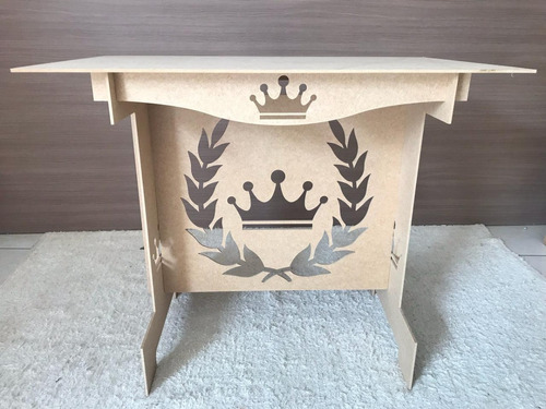 mesa decoração festa aniversário 15anos coroa 1.00 desm.