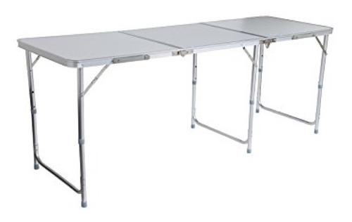 mesa despegable en aluminio 180 cm