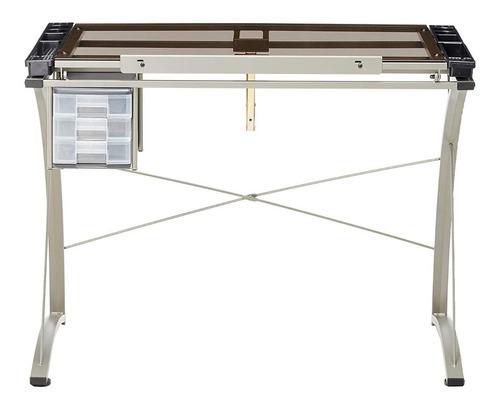 mesa dibujo artístico escritorio cristal templado restirador