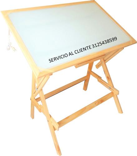 mesa dibujo de pliego *nueva*  con luz - envío gratis bogotá