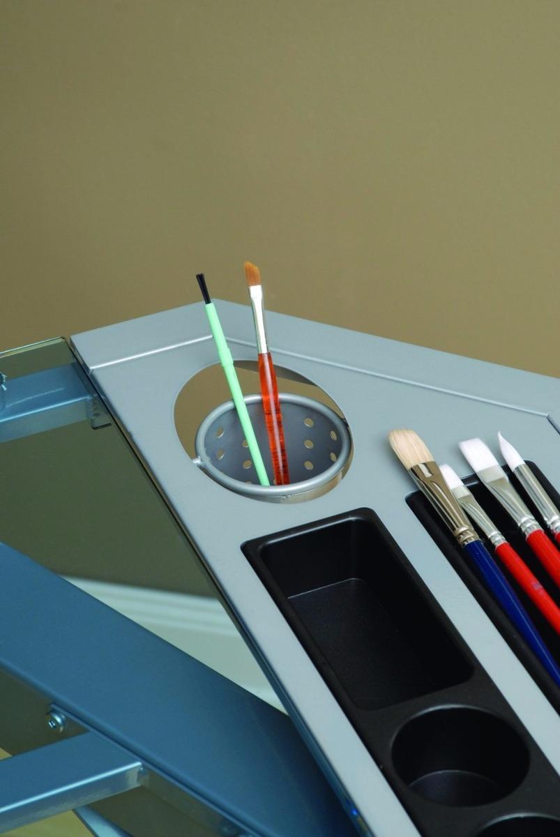 Mesa dibujo escritorio restirador profesional cristal - Mesas escritorio de cristal ...