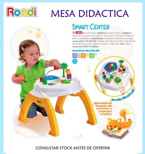 mesa didáctica de actividades rondi smart center