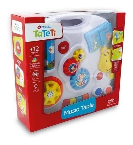 mesa didactica musical c/ luz music table calesita 883