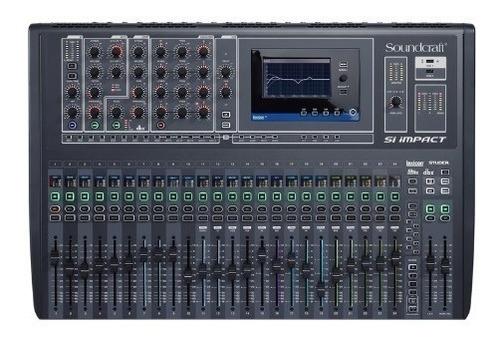mesa digital soundcraft si impact | 32 canais | nfe | harman