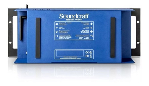 mesa digital soundcraft ui24r nf-e garantia 1ano ui 24r