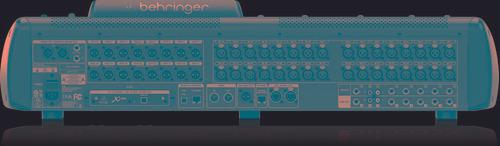 mesa digital x32 behringer original 2 anos garantia nfe