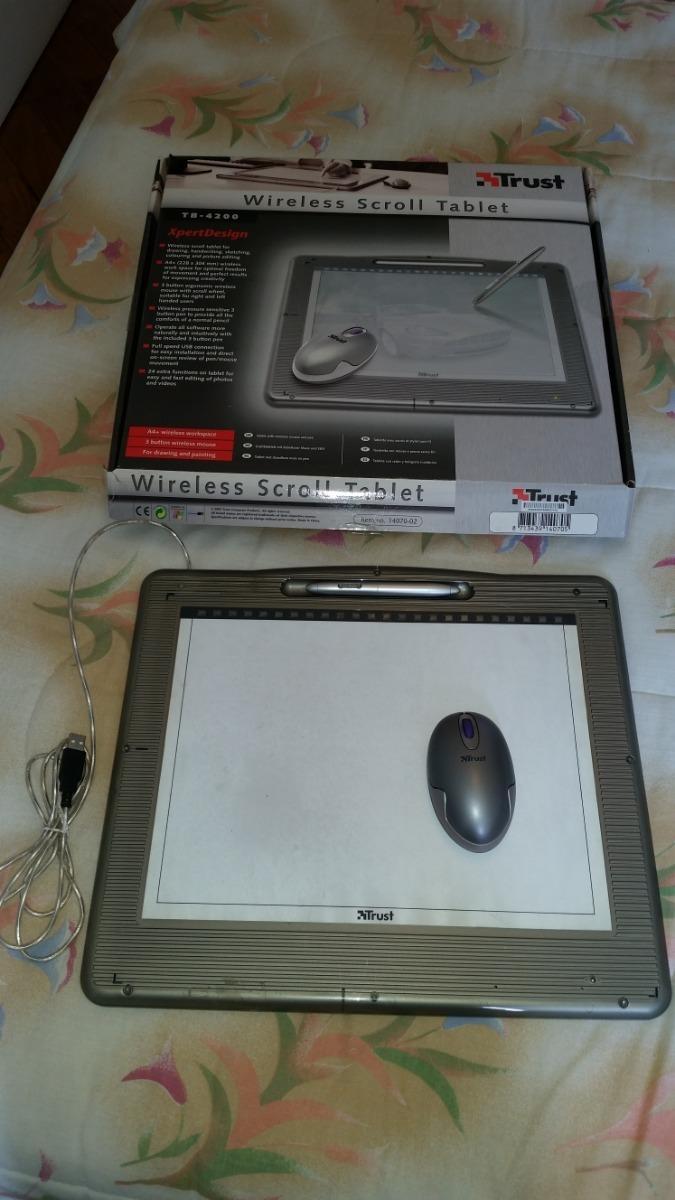 Strange Mesa Digitalizadora Tb 4200 Wireless Scroll Tablet Download Free Architecture Designs Rallybritishbridgeorg