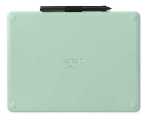 mesa digitalizadora wacom bluetooth média verde ctl6100wleo