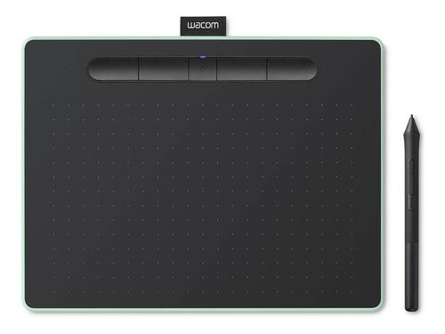 mesa digitalizadora wacom média bluetooth verde ctl6100wleo