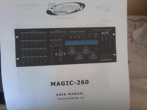 mesa dmx elation  magic 260