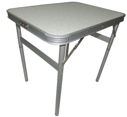 edba45252 Mesa Dobrável Alumínio 60 X 45cm Vira Maleta Palisad - R  99