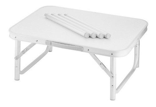 mesa dobravél alumínio 90x60cm multiuso suporta até 50kg