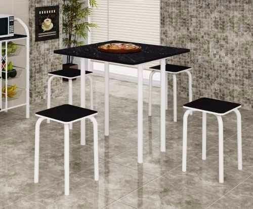 mesa dobrável com 4 banquetas || apenas rio de janeiro
