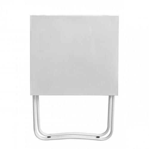 mesa dobrável de metal ferro aço