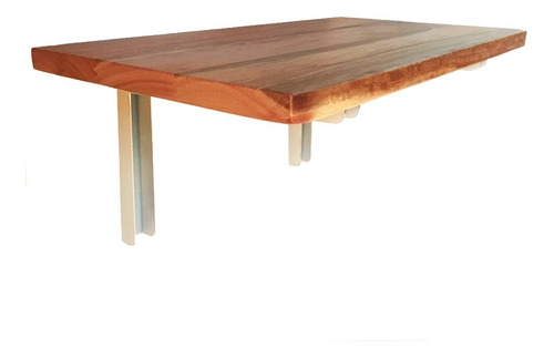 mesa dobrável de parede articulada borda dupla 50 x 30 cm