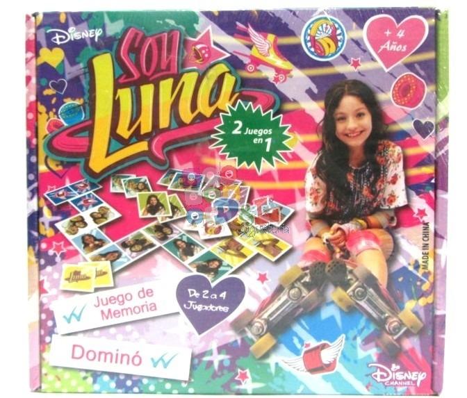 Soy Luna Disney Juego De Mesa 2 En 1 Domino Y Memoria 199 99 En