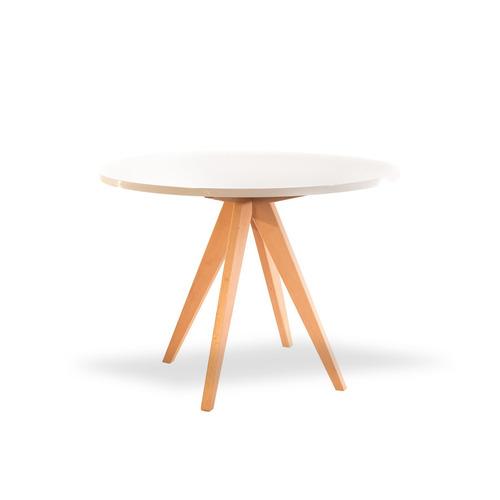 mesa dorian blanca - inlab muebles