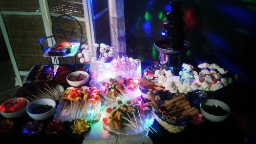 mesa dulce, cascada