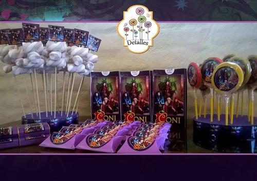 mesa dulce personalizada para 20 niños todos los personajes!