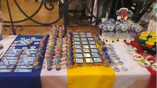 mesa dulce súper completa para 10 niños!!!