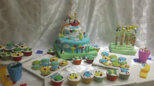 mesa dulce temática decorada, para 20 chicos!