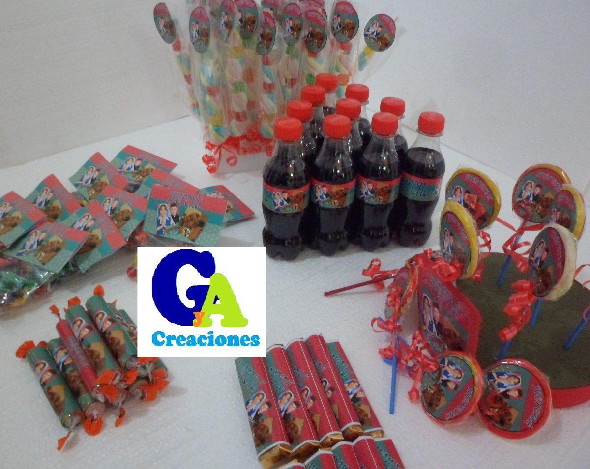 Mesa de dulces 10 ni os personalizada cumplea os - Mesas para cumpleanos infantiles ...