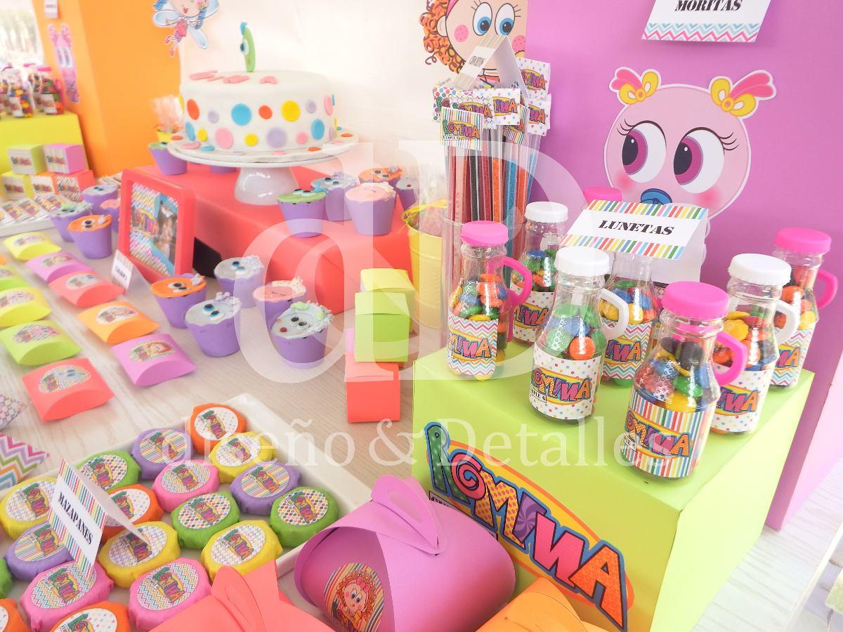 Mesa de dulces tem tica distroller fiestas infantiles for Decoracion mesas dulces